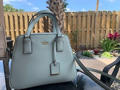 Kate Spade New York Cameron Street Lottie Women's Satchel Bag in Island Waters