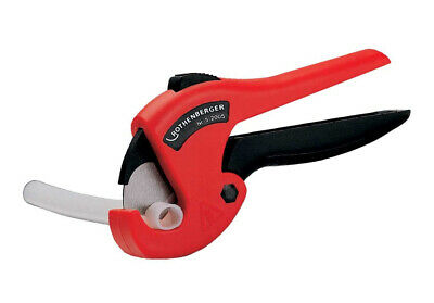 Rothenberger 52005 Plastic Pipe Shears ROCUT 26 0-26 , Black/Silver/Red