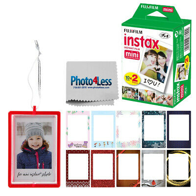 Fujifilm Instax Mini Instant Film Twin Pack (20 Sheets) | Holiday Accessories