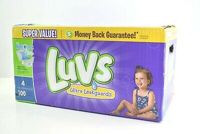 Luvs Diapers Size 4 Ultra Leakguards 100ct