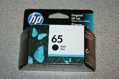 HP 65 Black Ink Cartridge N9K02AN Exp. Mar/2021 NEW