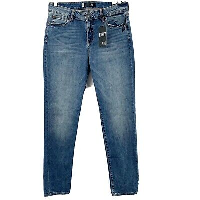 Kut From The Kloth Women's Jeans 12 Kurvy Diana Skinny Med Wash Perfection