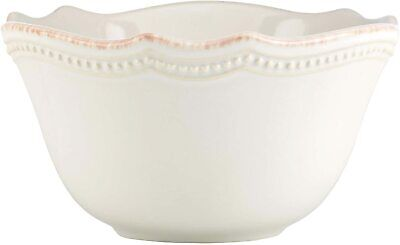 Lenox French Perle Bead White Cereal Bowl