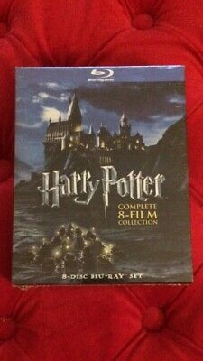 Harry Potter: Complete 8-Film Collectionl Blu-ray box set brand new sealed