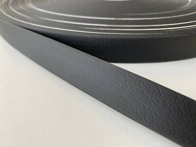 PVC Webbing - Black - 10mm, 13mm, 16mm, 20mm and 25mm available