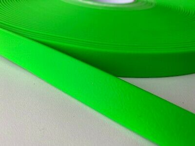 PVC Webbing - Hot Green - 10mm, 13mm, 16mm, 20mm and 25mm available