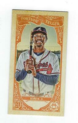 2020 Gypsy Queen Fortune Teller #15 Ronald Acuna Jr. Braves