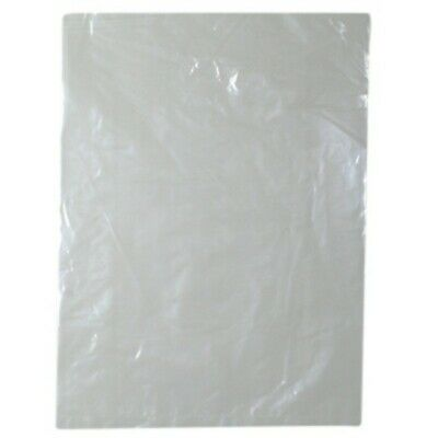 NEW 35 Um Bags - 305mm - Clear Plastic - PACKET(100) - Kent Paper