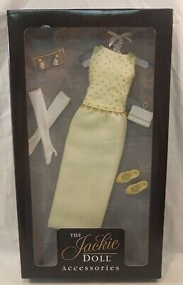 Franklin Mint The Jackie Doll Accessories Dress White House Gown Ensemble