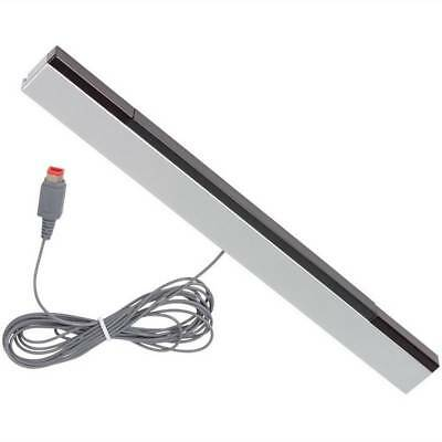 Wired Infrared IR Sensor Bar Wired Receiver For Wii or Wii U Includes Stand