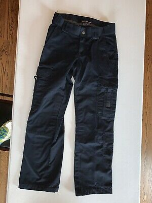 511 Tactical Series Pants Womens Pocket Cargo Navy Blue Size 4 Regular