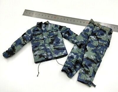 Uniform for FLAGSET FS 73023 Chinese Army Airborne Forces PLAAF 1/6 Scale Action