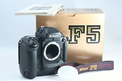 [TOP Mint in Box w/ Manual] Nikon F5 35mm Film Camera Black Body Only from Japan