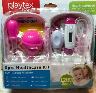 Healthcare 6 Piece Grooming Kit by Playtex Baby Thermometer Nail Clipper