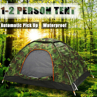1-2 Person Waterproof Camping Tent Automatic Pop Up Quick Shelter Outdoor Hiking