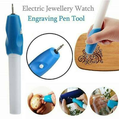 Handheld Engraving Etching Hobby Craft Pen Rotary Tool For Wood Metal Glass - UK