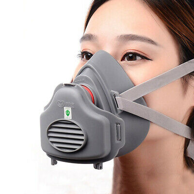 Anti Gas Mask Survival Safety Respiratory Emergency Filter Face Mask Protect Lot