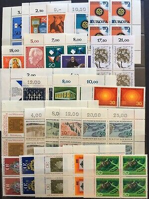 Germany (Bund) 1960s-1980s Blocks of 4 Lot 4 MNH/MLH & CTO