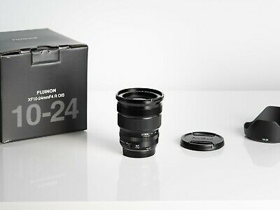 Fujifilm XF 10-24mm f/4 R OIS Lens in Excellent condition