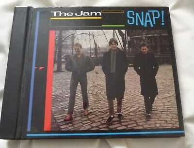 The Jam - Snap! - Limited Edition Hip-O-Select Hardback Book 3 CD (EX)