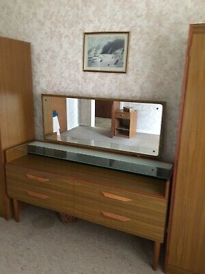 Retro 50s 60s Bedroom Furniture Set