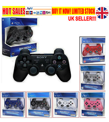 DualShock 3 PS3 Wireless Bluetooth Game Controller for Sony PlaySation 3 NEW wow