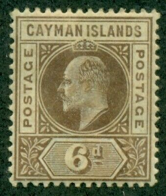 CAYMAN ISLANDS #11, Mint Hinged, Scott $18.00
