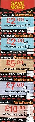 Money Off Coupon Farmfoods (26.5£ total discount)