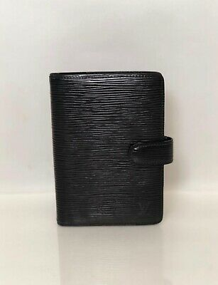 Louis Vuitton Epi Agenda PM in Black Wallet Planner