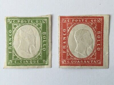 old stamps ITALY x 2 mm