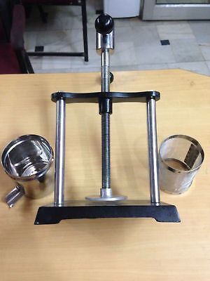 Tincture press lab analytical instruments stainless steel disc