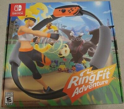 Ring Fit Adventure -- Standard Edition (Nintendo Switch, 2019)