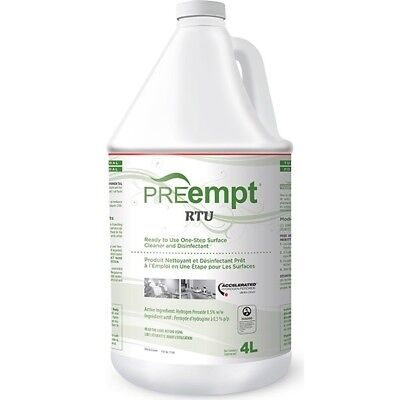 PREempt Accel RTU Ready-To-Use Surface - 1Gal / 4Liters NEW