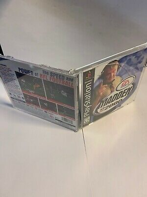 Madden NFL 2000 (Sony PlayStation 1, 1999 PS1) -Case Only No Game (B)