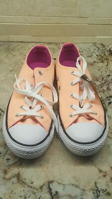 NEW Junior Converse Chuck Taylor All Star Ox Shoes, size 3 sunset glow Girls