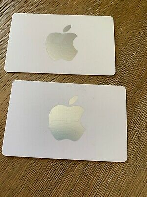 Apple Store gift cards $50 Total- Not iTunes.