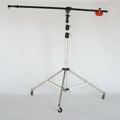 Manfrotto Large Light Stand & Boom pole Over 20ft! with included counter weight