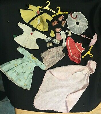 """Vintage 1950s 8"""" Doll Outfit Lot Tag Vogue for Ginny Ginger Muffie Alexanderkins"""