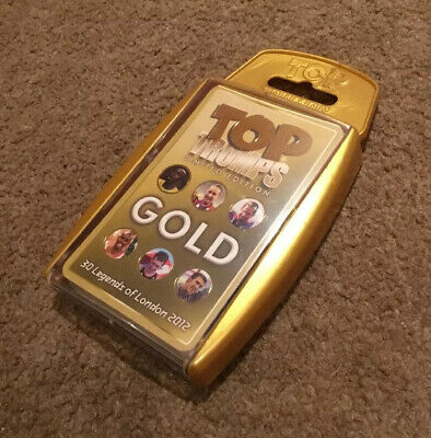 London 2012 Olympic Games Team GB GOLD Top Trumps