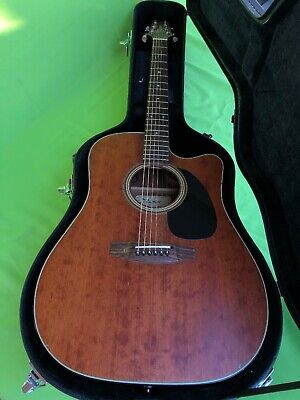 Takamine EF340SCGN Pro Series Dreadnought Acoustic/Electric Guitar w/ Case
