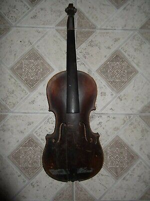 VIOLIN ANTIQUE  FULL SIZE copy Antonius Stradiuarius OLD VINTAGE made Austria