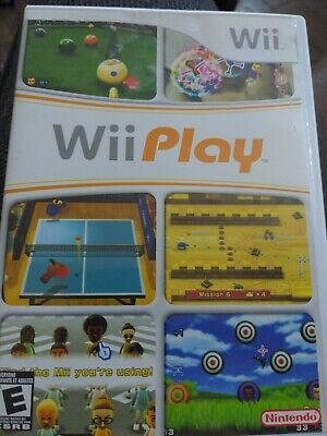 $1 Wii Game - WII PLAY - CD Condition Booklet Intact