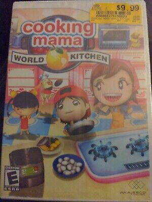$1 Wii Game - COOKING MAMA WORLD KITCHEN - CD Condition Booklet Intact