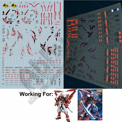 Super Detail Up 1//100 Astray Red Frame Gundam MG Water Decal Model Kit 61845