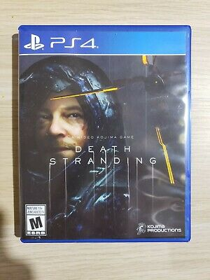 Death Stranding Video Game for PS4 PlayStation 4 - Kojima Productions