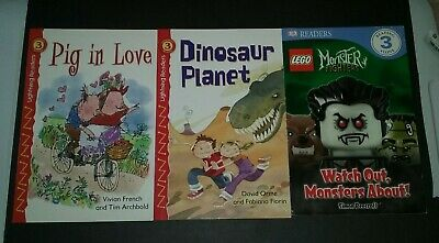 1st 2nd Grade Learning Reading Home School Level 3 Books Lot of 3