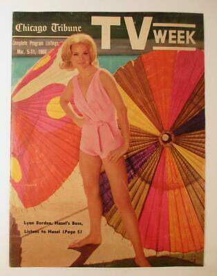 Chicago Tribune TV Week Television Guide March 5-11 1966 Excellent