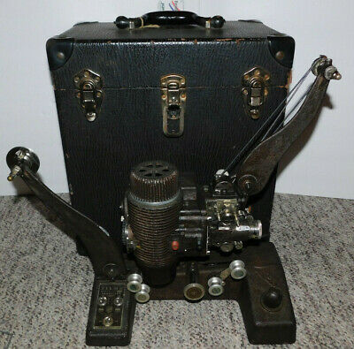 Rare 1930'S? Bell & Howell 16Mm Film Filmo 129 Projector With Original Case