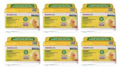 CVS Non-GMO Infant Formula with Iron (22.2 oz) EXP 01/2021 - 6 Brand New Sealed