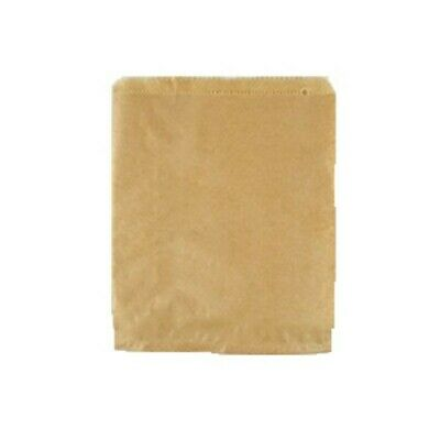 NEW Brown Paper Sandwich Bags - 200mm - PACKET(500) - Kent Paper